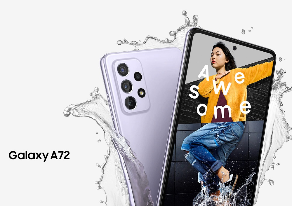 Samsung presenta los Galaxy A52, Galaxy A52 5G y Galaxy A72 35