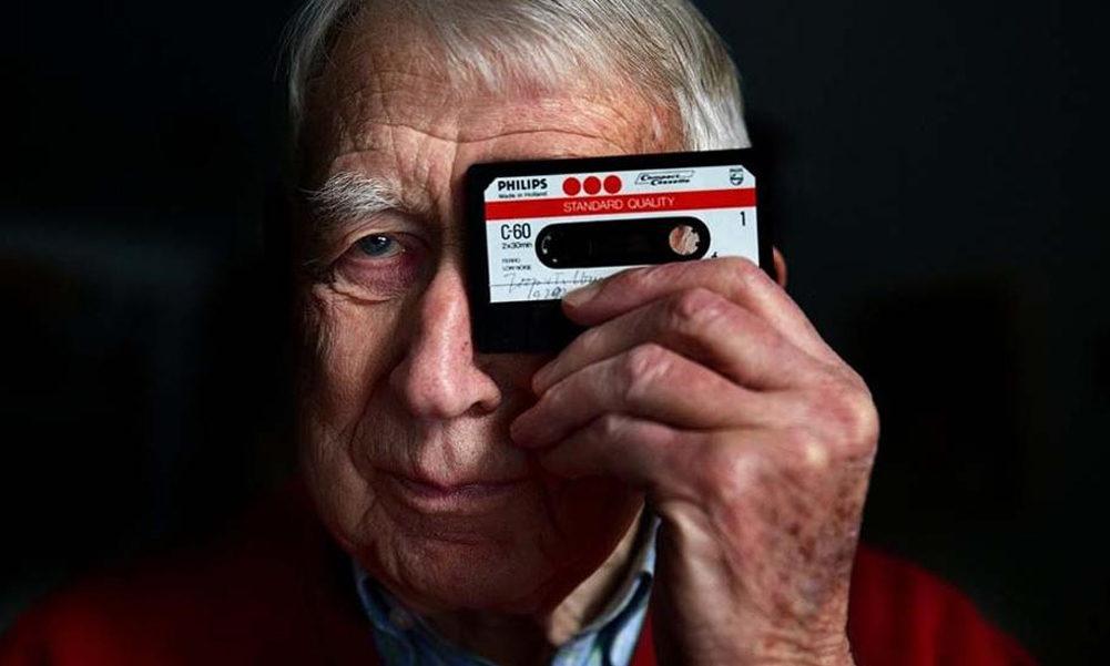 Lou Ottens inventor cinta de casete