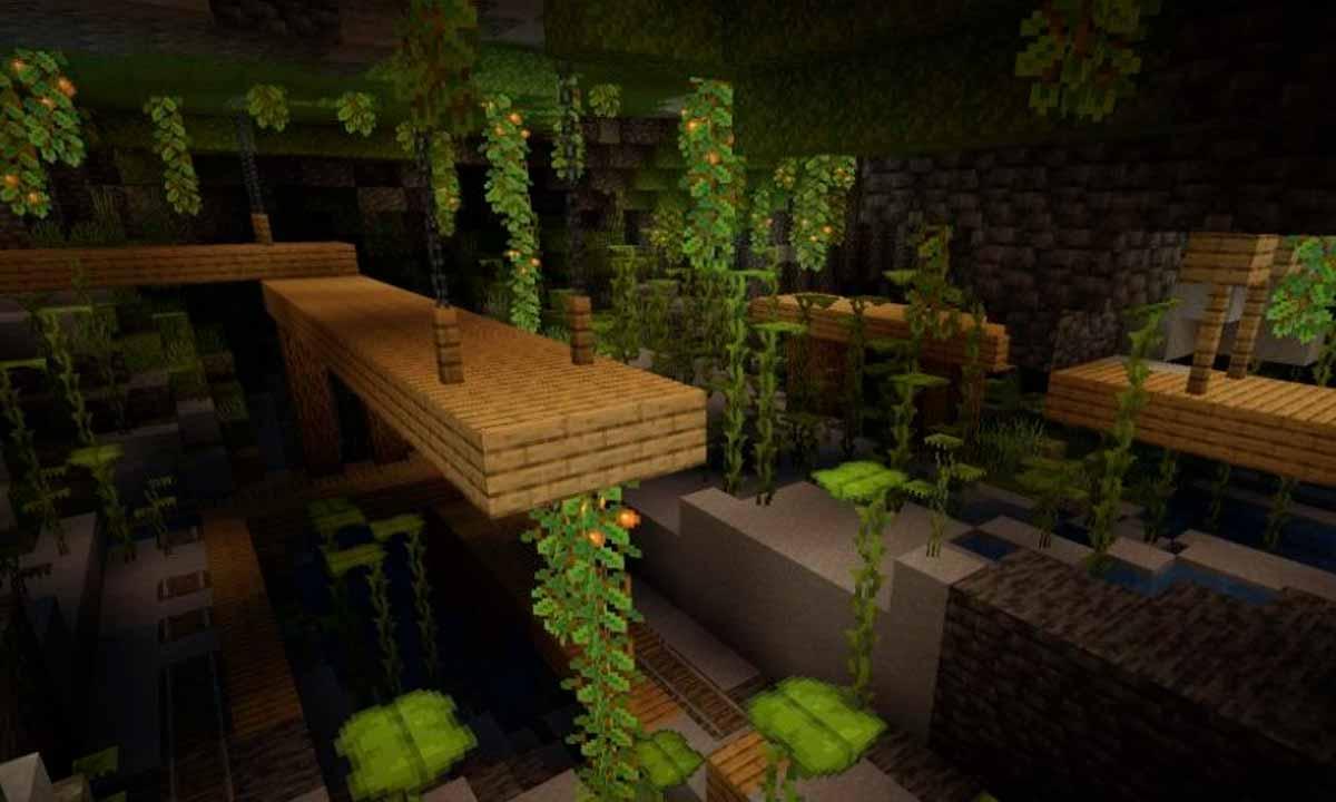 Me pregunto si la oferta para trabajar en Minecraft como jardinero contemplará también las Lush Caves de Minecraft 1.17