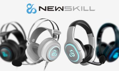 Newskill Ivory Drakain y Scylla Auriculares gaming blancos