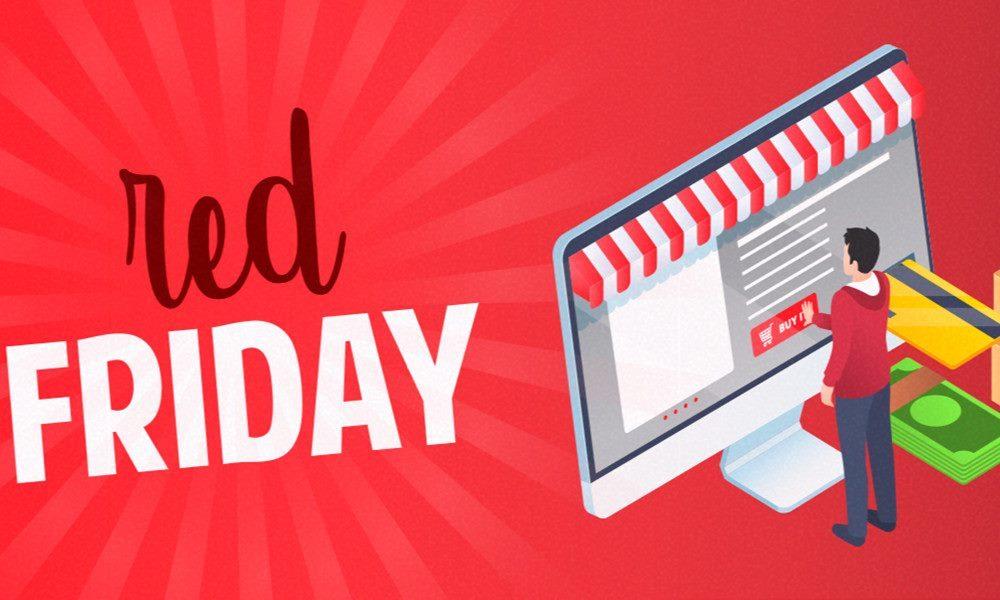 Nueva entrega de ofertas Red Friday con los mejores descuentos de la semana