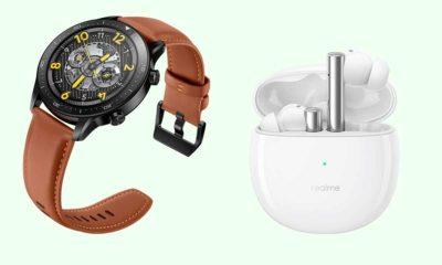 Realme Buds Air 2 y Realme Watch S Pro, compañeros de viaje del Realme 8