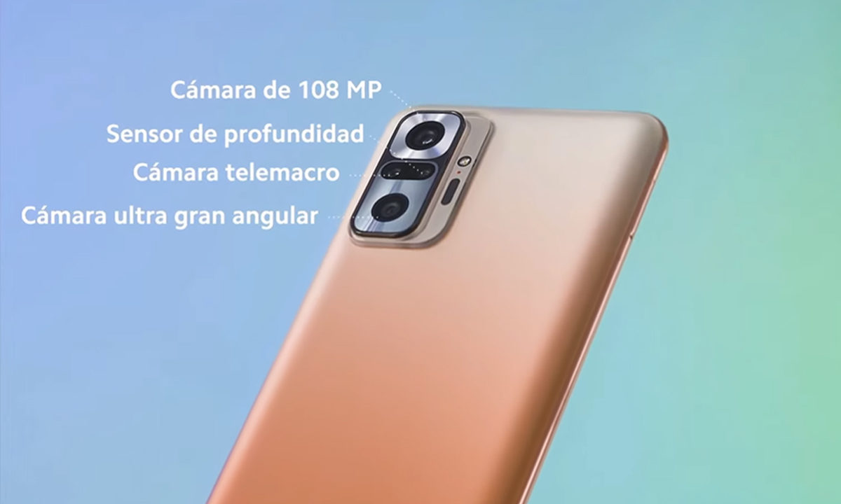 Redmi Note 10 Pro Cámara
