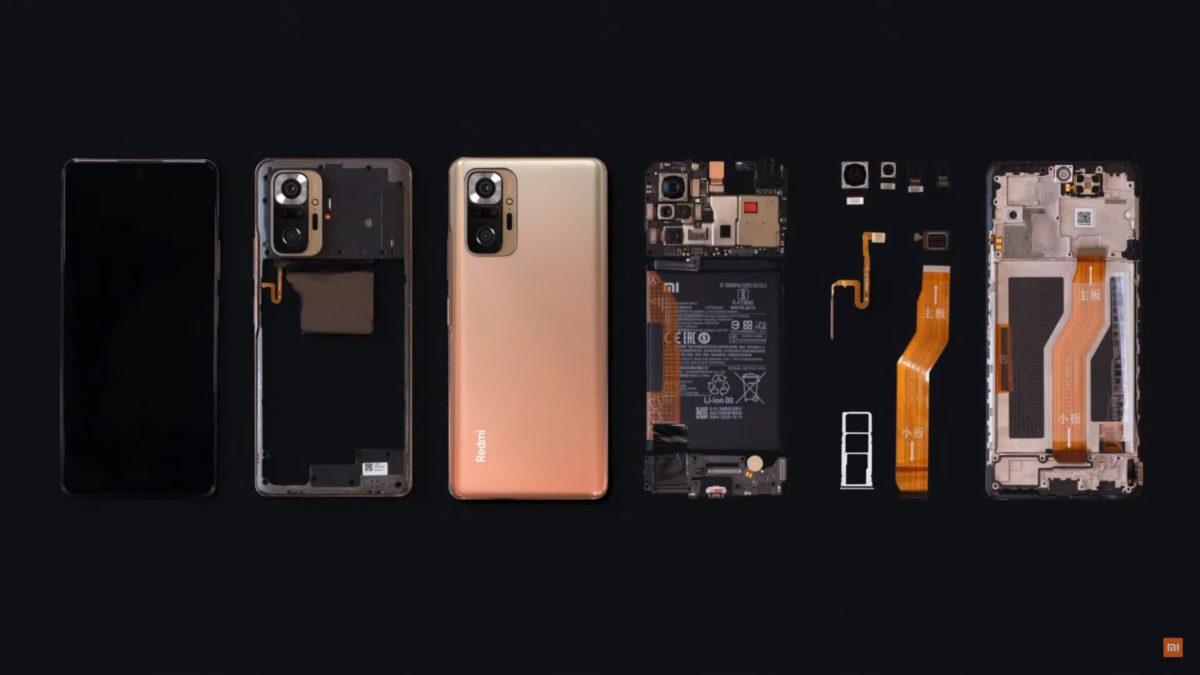 Redmi Note 10 Pro Despiece