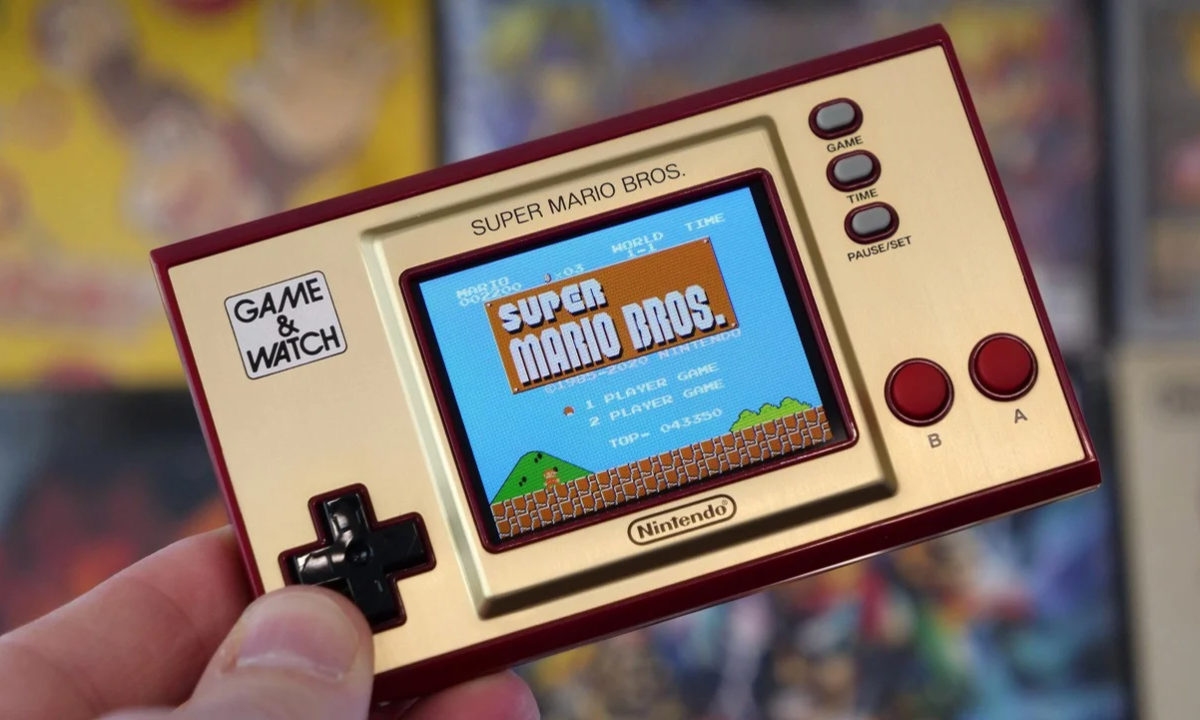 Regalos dia del padre consola retro Game & Watch Super Mario