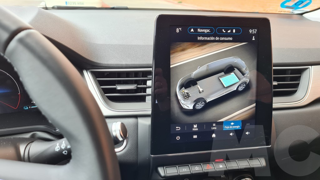 Renault Captur e-Tech, narrativa 38