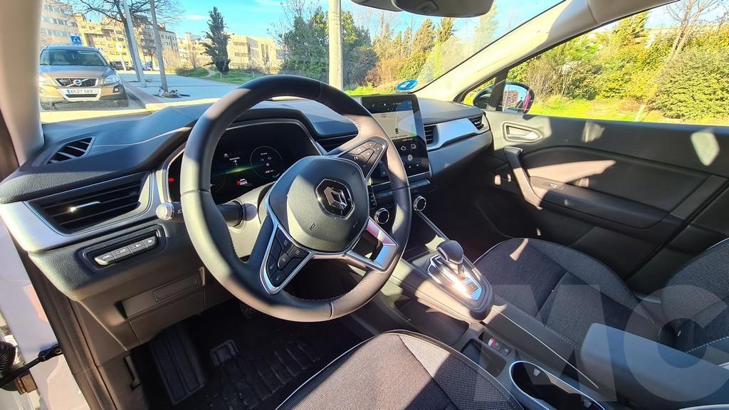 Renault Captur e-Tech, narrativa 46