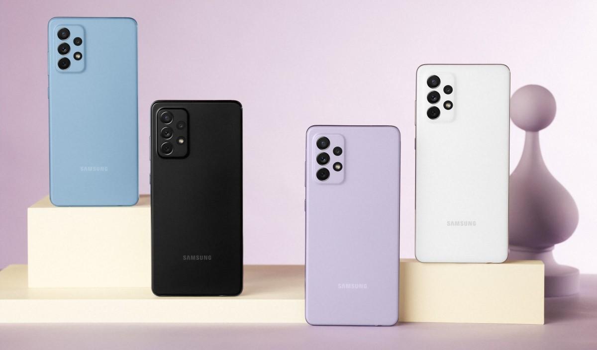 Samsung presenta los Galaxy A52, Galaxy A52 5G y Galaxy A72 33