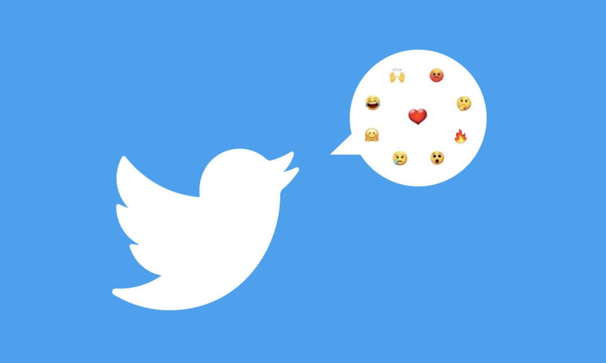 Twitter reacciones emoji no me gusta
