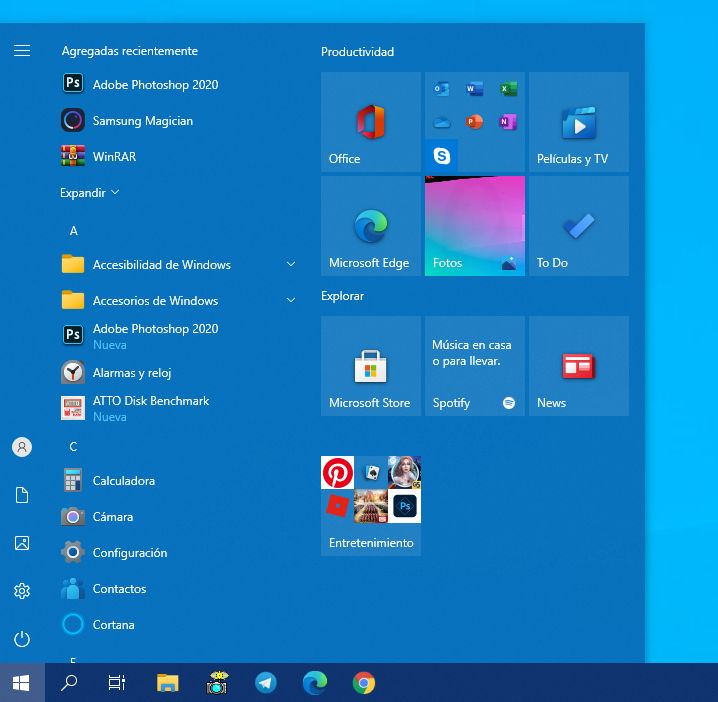 Windows 10 21H2, primer vistazo a 'Sun Valley' 33