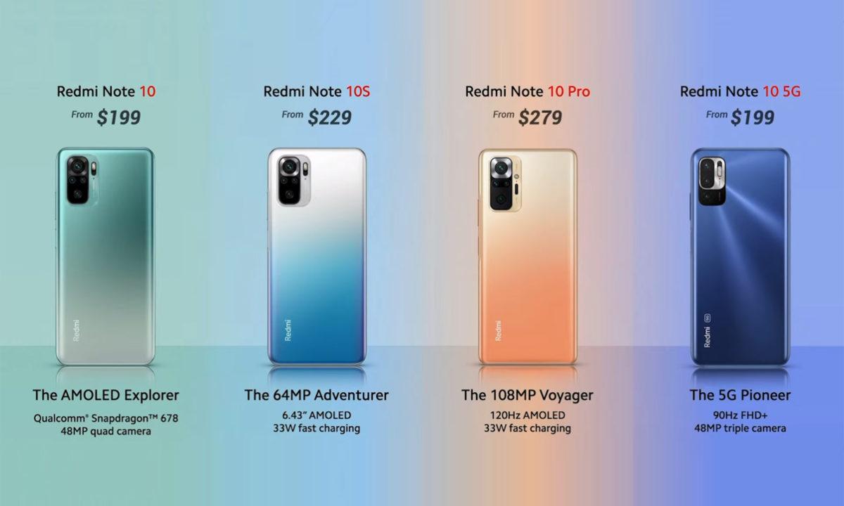 Xiaomi Redmi Note 10 Precios
