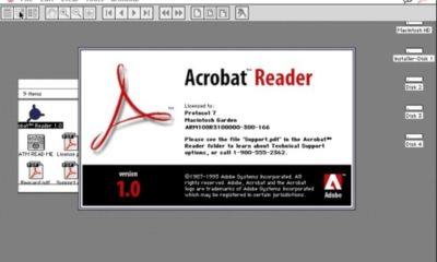 Adobe bloquea a un usuario por compartir un Acrobat Reader 1.0 de 1994 40