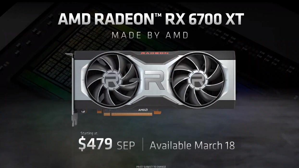 Radeon RX 6700 XT: especificaciones y precio de lo nuevo de AMD 48