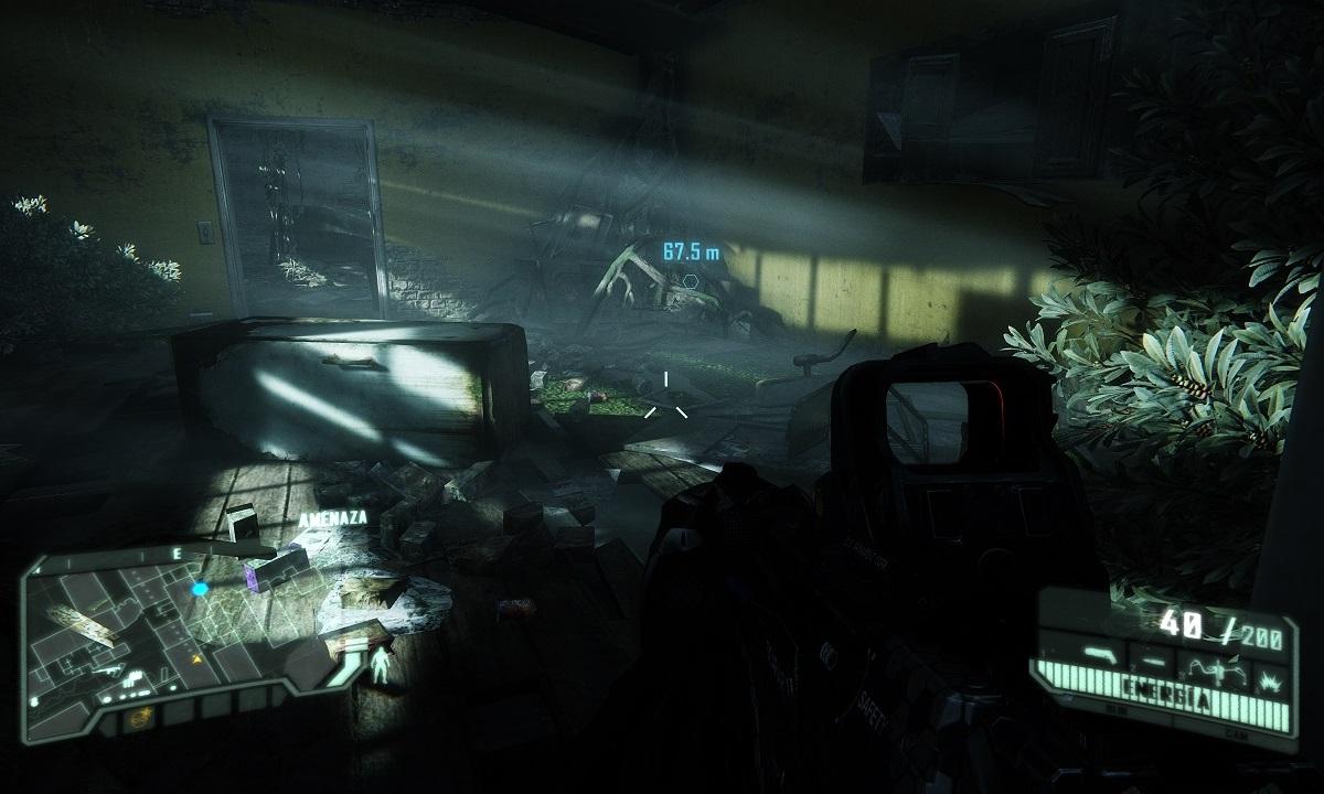 A qué resolución y calidad gráfica juegas Crysis 3