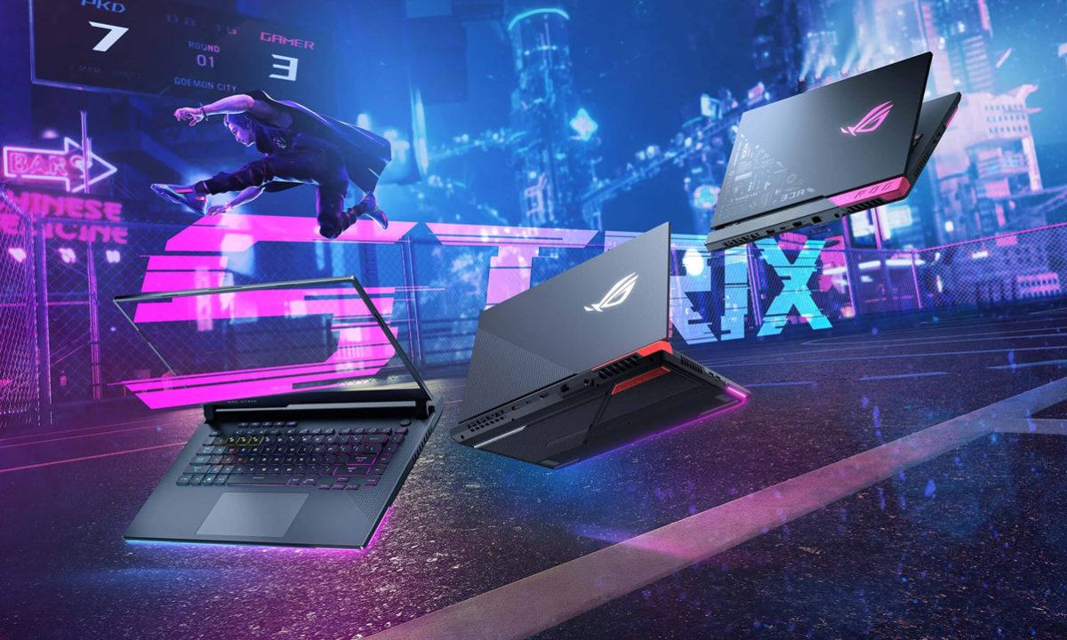 ASUS ROG STRIX portatil gaming AMD Radeon RX 6800M