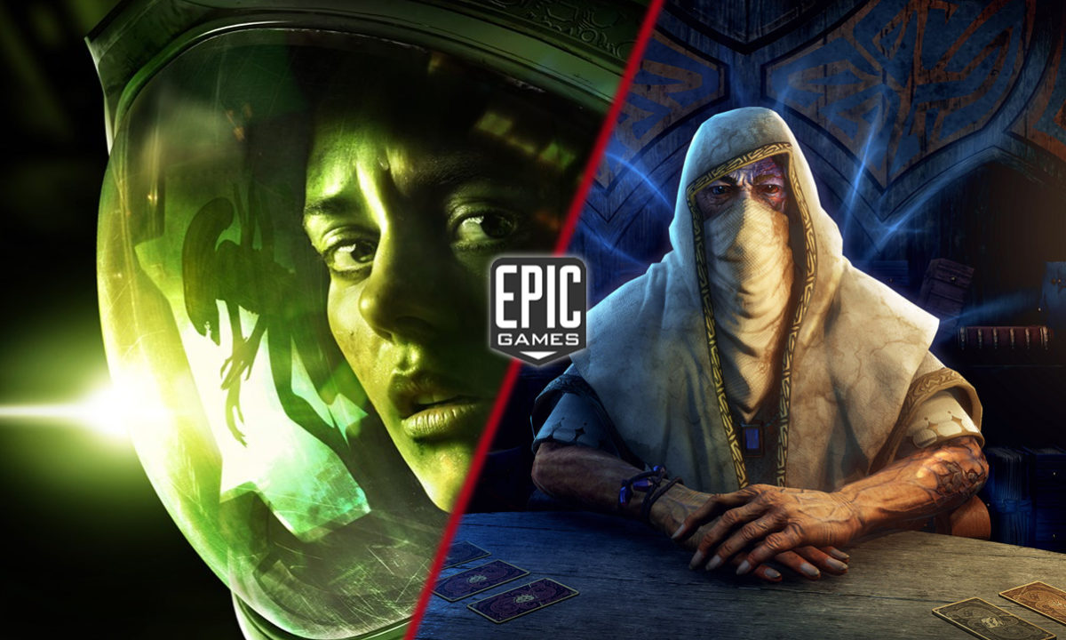Alien Isolation y Hand of Fate 2 Juegos Gratis Epic Games Store