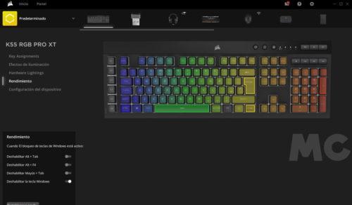 Corsair K55 RGB PRO XT, análisis: Distinción al alcance de todos los bolsillos 38