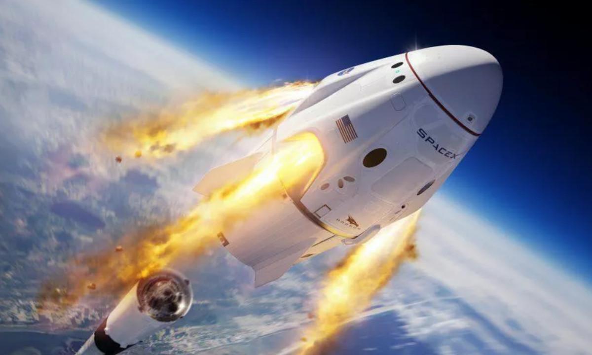 SpaceX logra reutilizar con éxito su capsula Crew Dragon