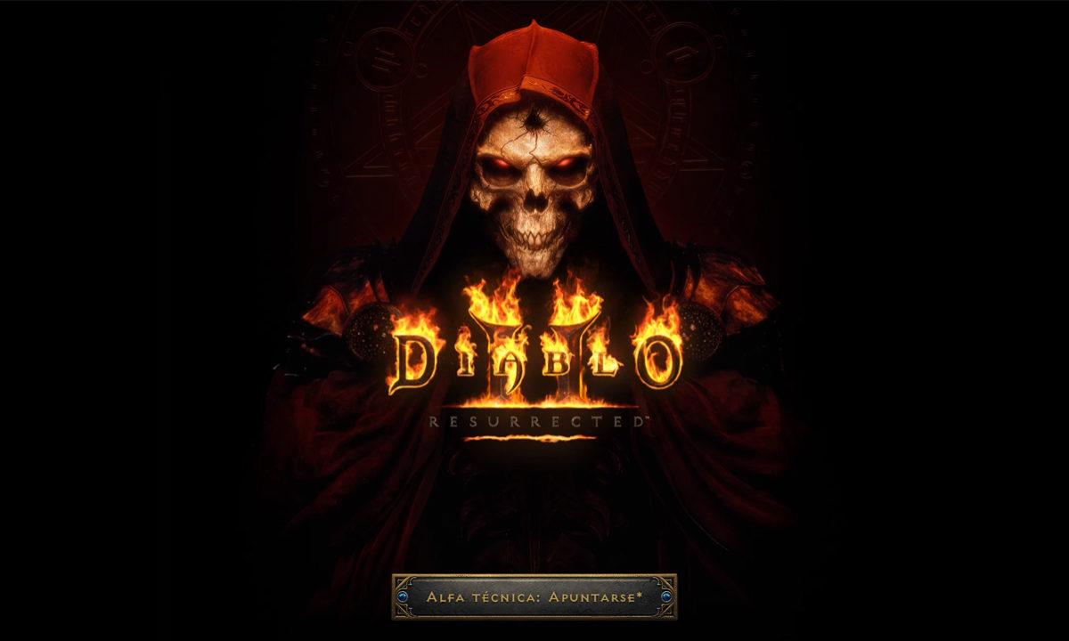 Diablo II Resurrected alfa técnica