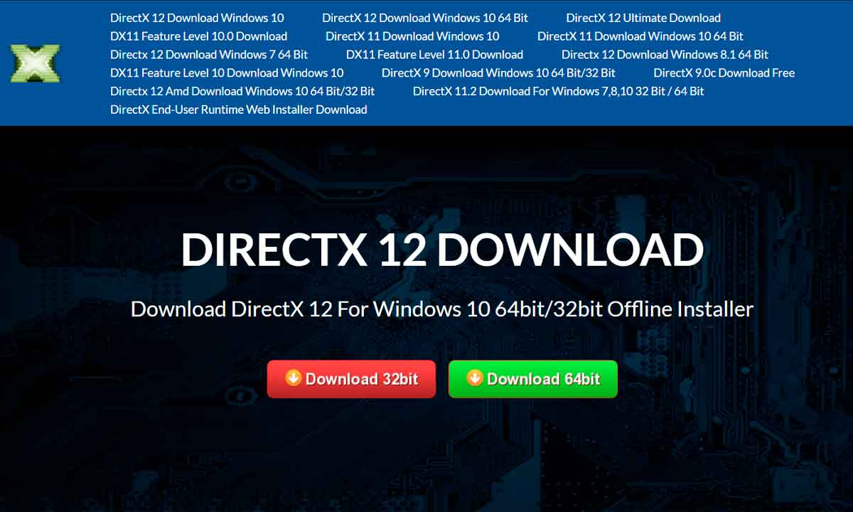 DirectX 12: Presta atención a las webs de descargas maliciosas