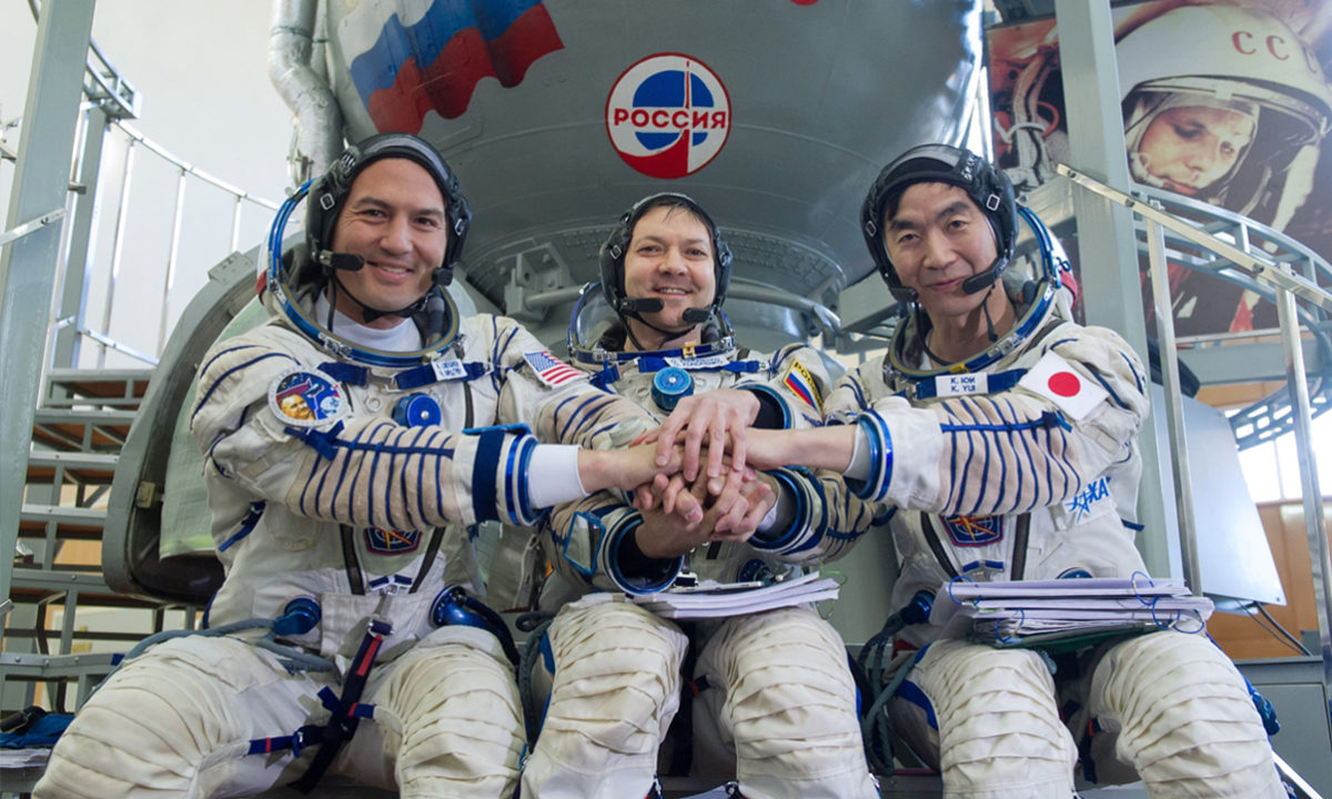 Estación Espacial Internacional Astronautas Cosmonautas