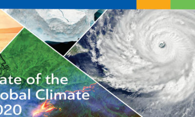 Estado del clima mundial 2020