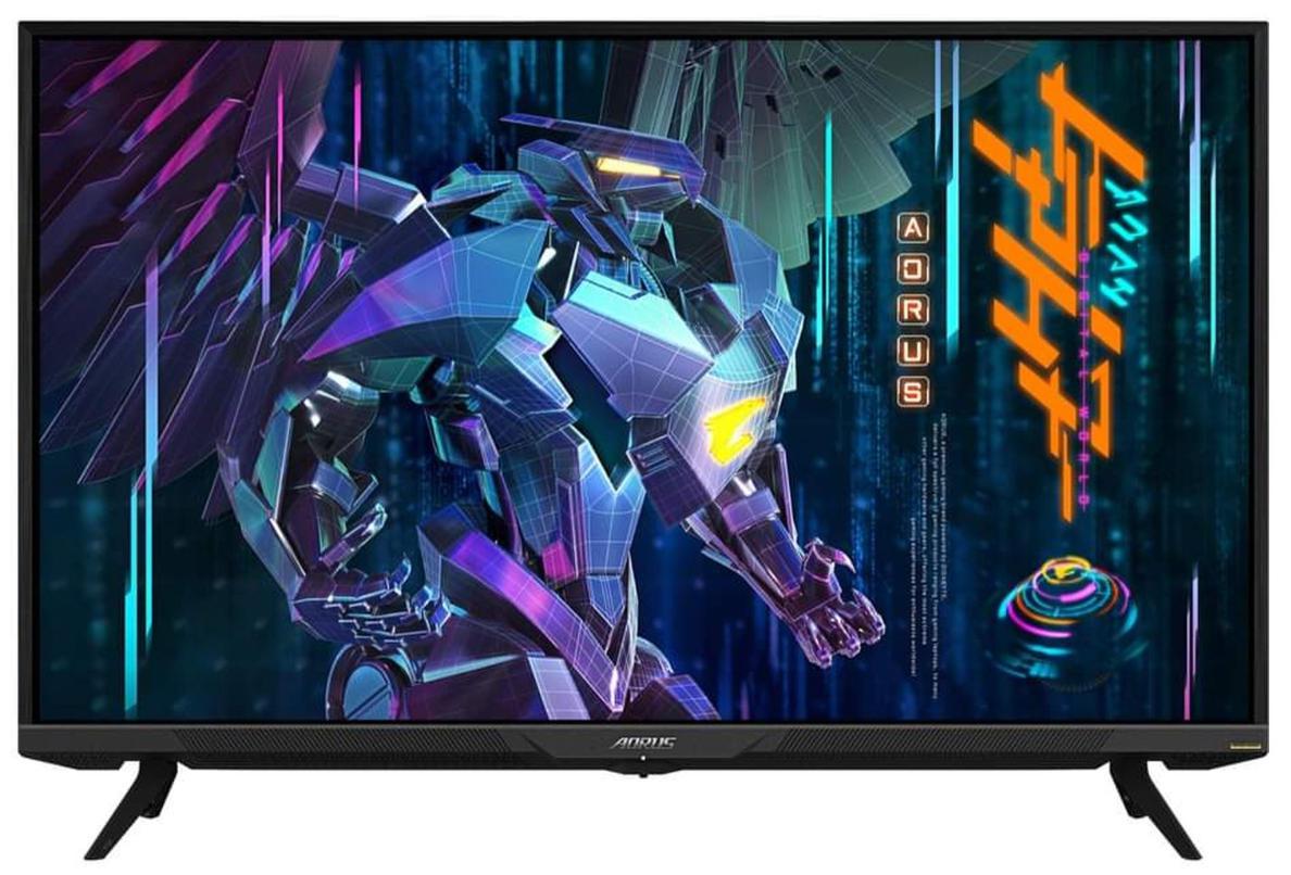Gigabyte Aorus FV43U: un monitor bien grandote, 4K y para juegos 32