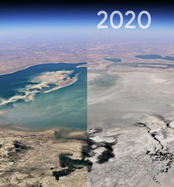 Google Earth Timelapse la Tierra 37 años