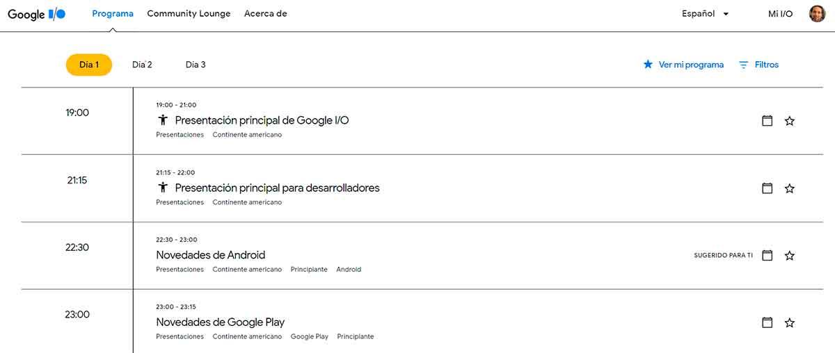 Google I/O 2021: ya conocemos el programa oficial