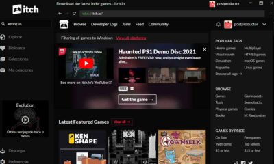 Itch.io ahora disponible en Epic Games Store