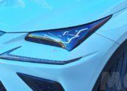 Lexus NX 300h, rocas 100