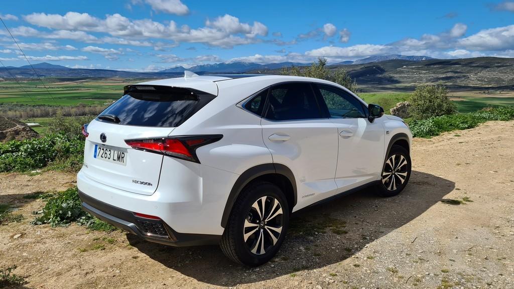 Lexus NX 300h, rocas 36