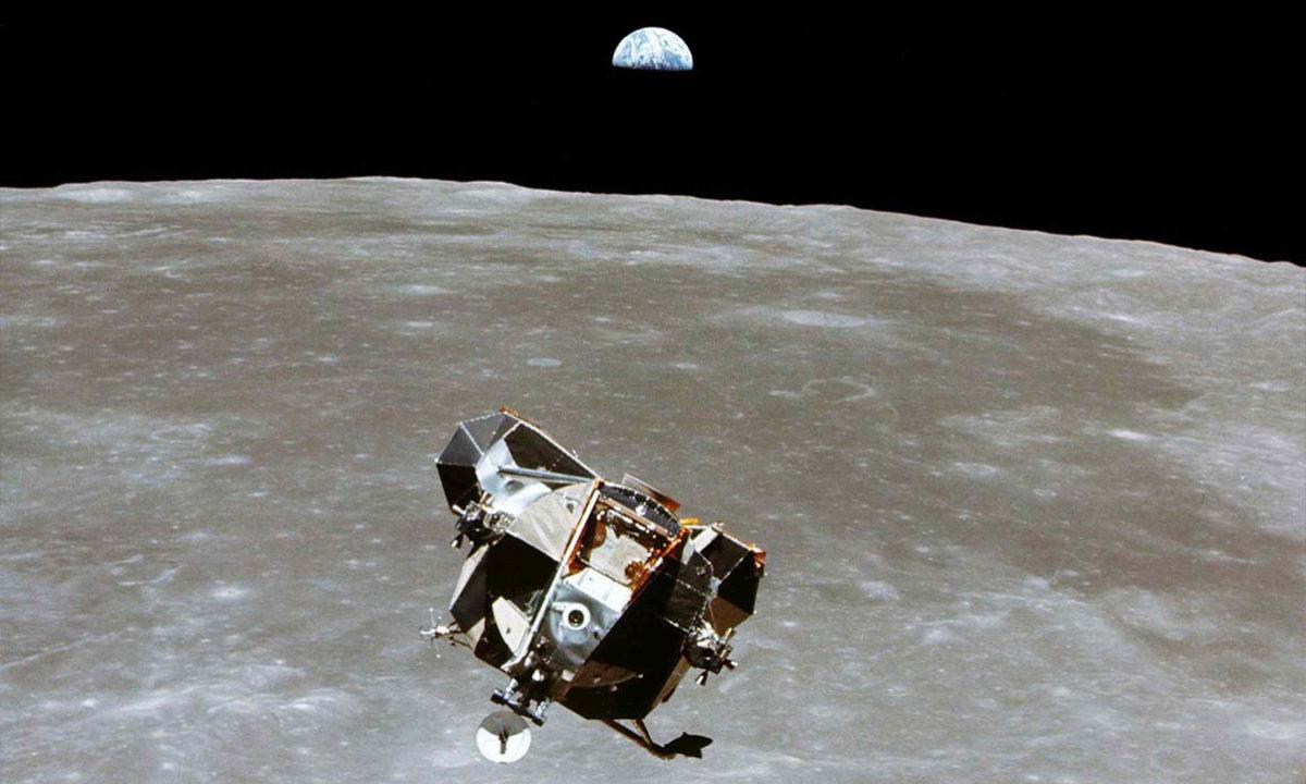 Michael Collins Apolo 11 fotografía Luna Tierra