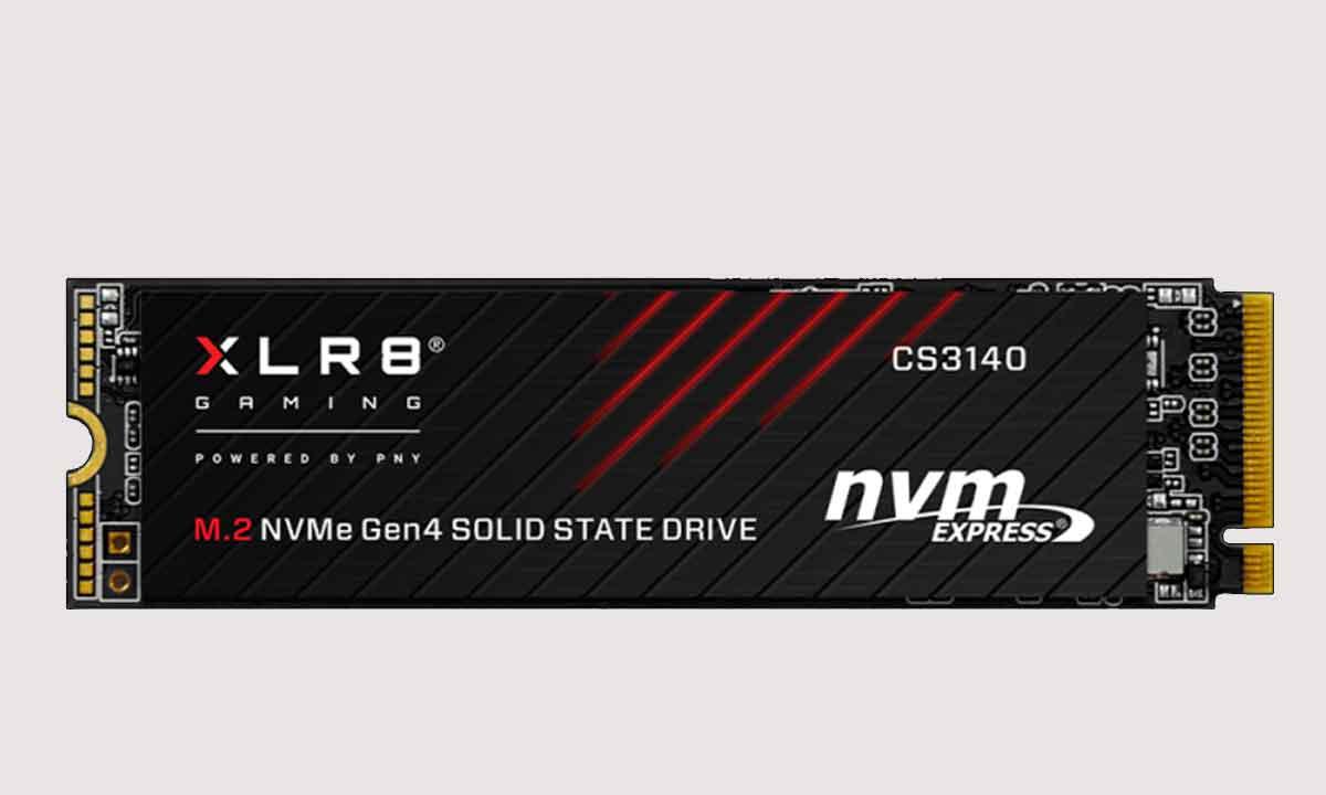 PNY XLR8 CS3140: una SSD NVMe M.2 Gen4 que alcanza los 7.500 MB por segundo