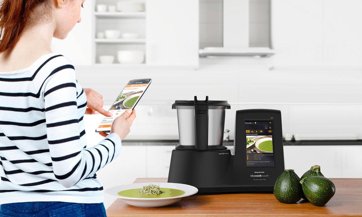 Regalos dia de la madre robot de cocina Taurus Mycook Touch