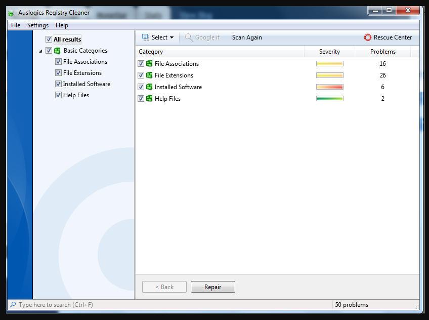 Cinco aplicaciones gratuitas para limpiar el registro de Windows 10 31
