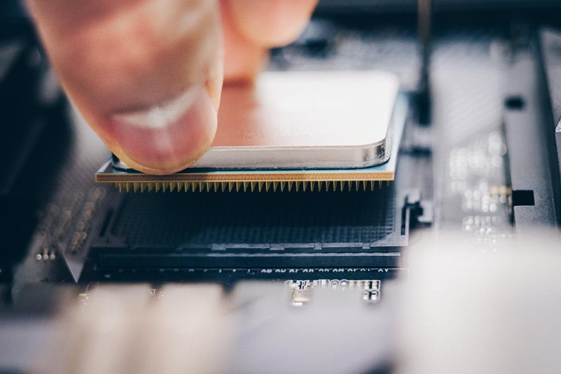 procesadores Intel y AMD: los pines de un Ryzen