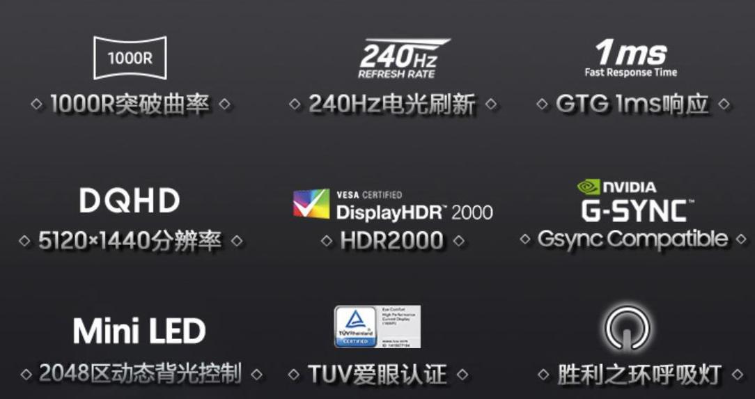 Samsung Odyssey G9 2021, el primer monitor con DisplayHDR 2000 29