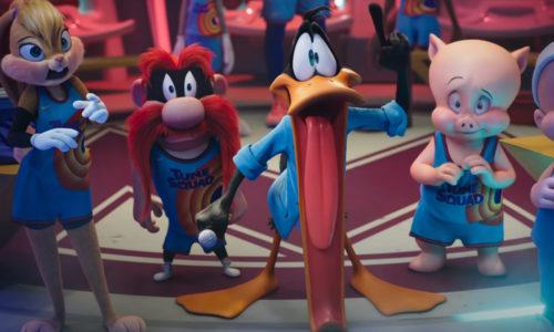 Space Jam Nuevas Leyendas Looney Toons CGI