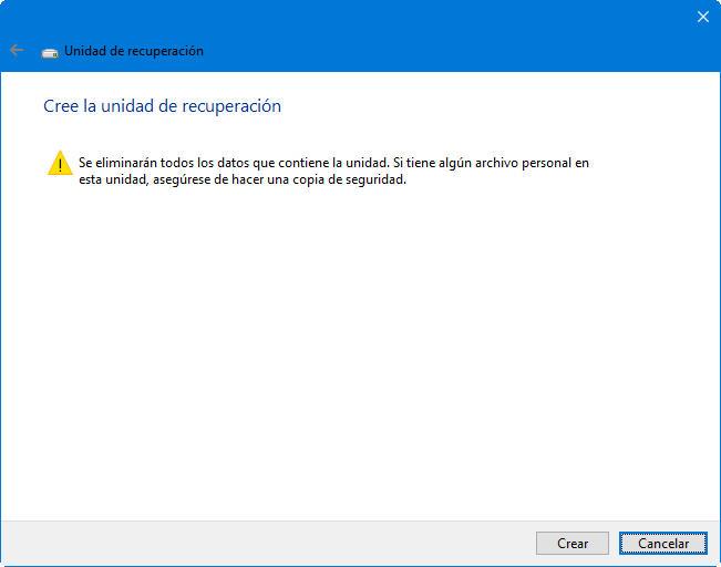 Cómo crear una unidad de recuperación USB para Windows 10 36