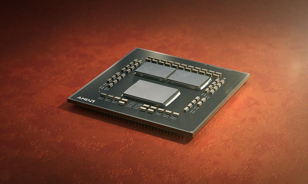 procesadores Intel y AMD: imagen de un Ryzen 3000