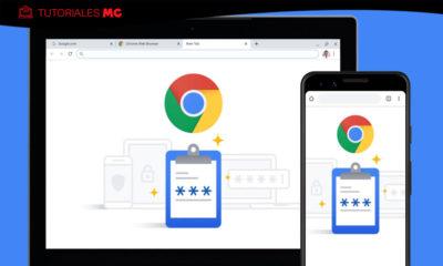 contraseñas de Chrome