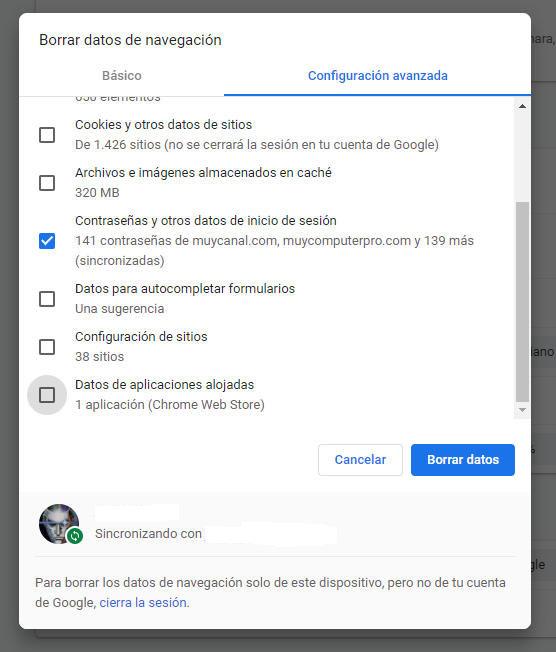 Cómo exportar y eliminar contraseñas guardadas en Chrome 44