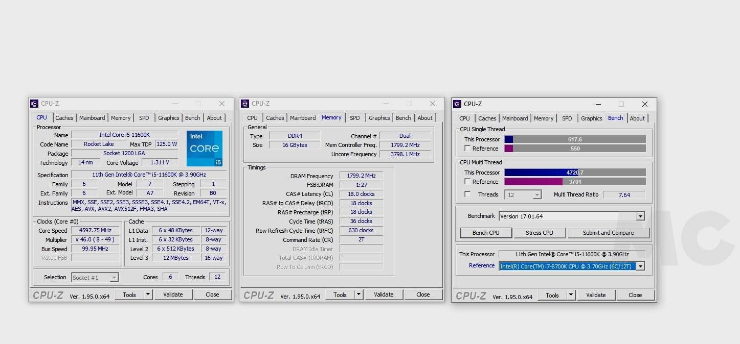 Intel Core i5 11600K, análisis: Creando valor en 14 nm 35