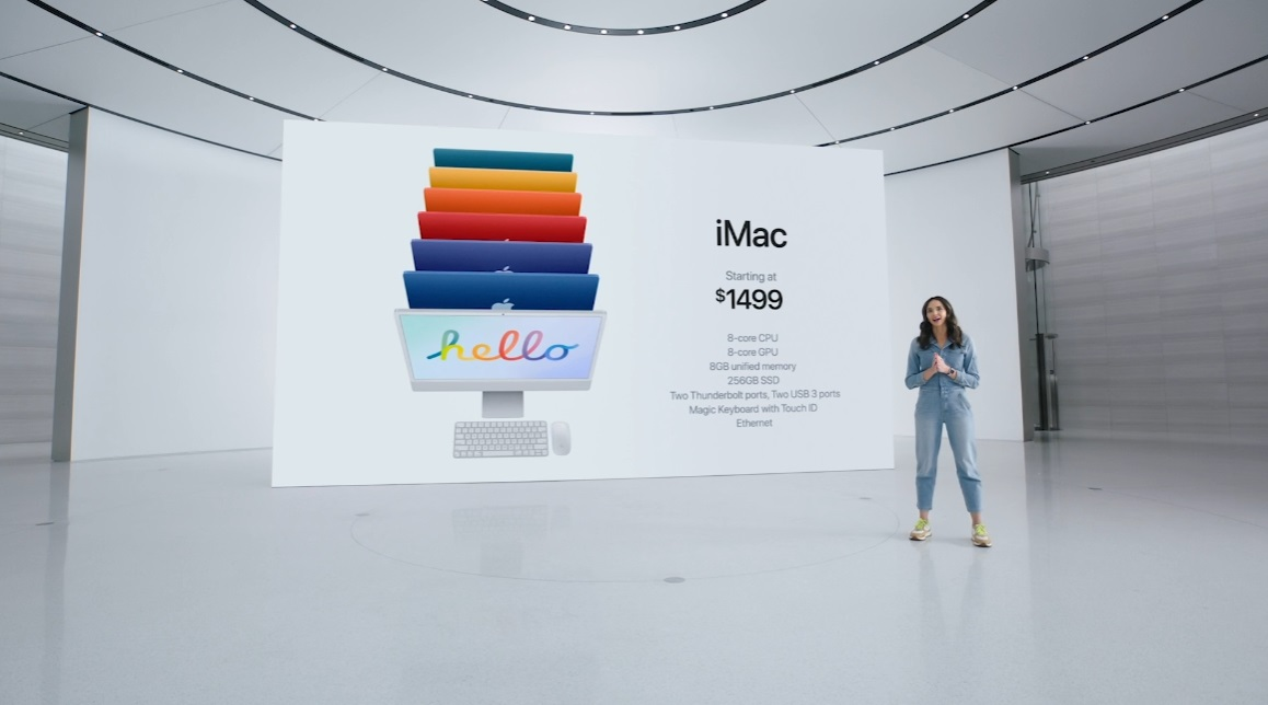 Apple presenta el iMac 2021 y confirma una profunda renovación, tanto interior como exterior 43