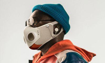 Xupermask, una mascarilla futurista para geeks con un toque cyberpunk 42