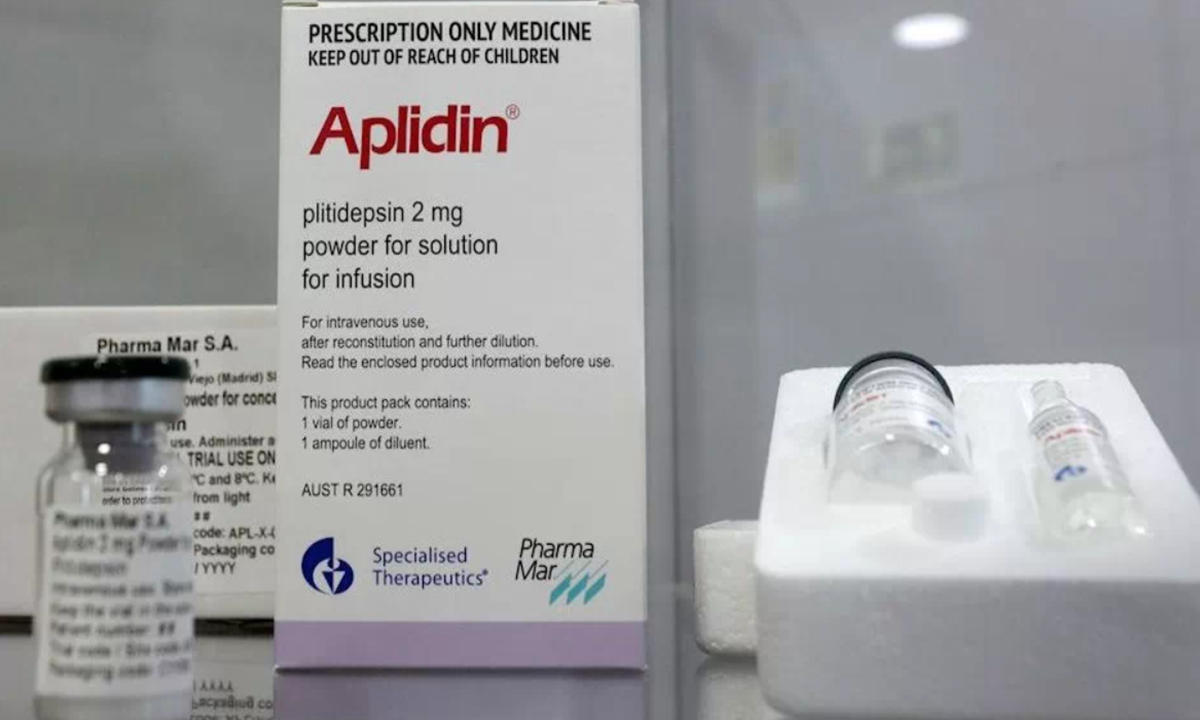 pastilla contra el COVID de Pfizer