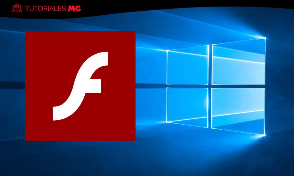 Adobe Flash en Windows 10
