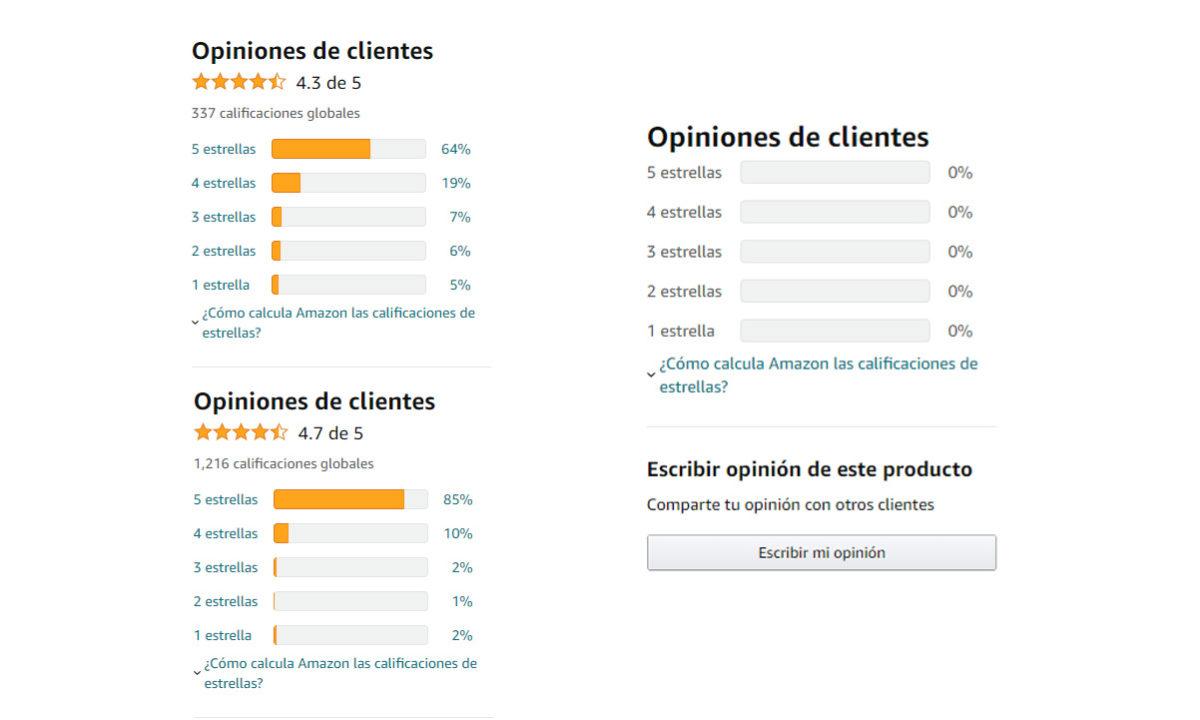 Amazon reseñas falsas borradas