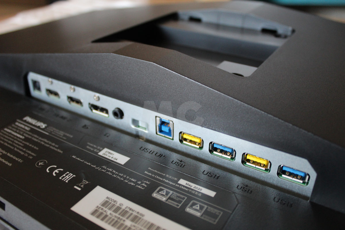 Análisis Philips Momentum 278M1R Conectividad